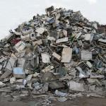 Was auf den ersten Blick einfach nur wie ein riesiger Müllberg aussieht, ist in Wahrheit eine auf dem Weltmarkt heiß begehrte Ware. Aus den im Schrott enthaltenen Rohstoffen können sogenannte Sekundärprodukte entstehen. Bild: © Bramwork - Fotolia.com